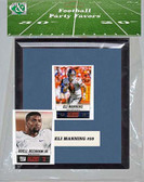 NFL New York Giants Party Favor With 6x7 Mat and Frame