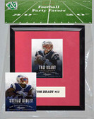 NFL New England Patriots Party Favor With 6x7 Mat and Frame