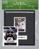 NFL Oakland Raiders Party Favor With 6x7 Mat and Frame