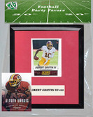 NFL Washington Redskins Party Favor With 6x7 Mat and Frame