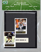 NFL New Orleans Saints Party Favor With 6x7 Mat and Frame
