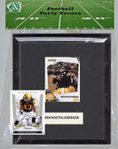 NFL Pittsburgh Steelers Party Favor With 6x7 Mat and Frame
