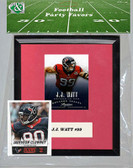 NFL Houston Texans Party Favor With 6x7 Mat and Frame