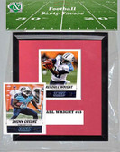 NFL Tennessee Titans Party Favor With 6x7 Mat and Frame