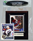 NHL Colorado Avalanche Party Favor With 4x6 Plaque