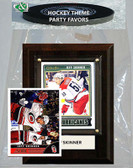 NHL Carolina Hurricanes Party Favor With 4x6 Plaque