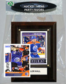NHL Edmonton Oilers Party Favor With 4x6 Plaque