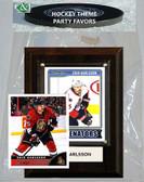 NHL Ottawa Senators Party Favor With 4x6 Plaque