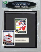 NHL Carolina Hurricanes Party Favor With 6x7 Mat and Frame
