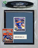 NHL Edmonton Oilers Party Favor With 6x7 Mat and Frame