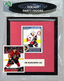 NHL Ottawa Senators Party Favor With 6x7 Mat and Frame