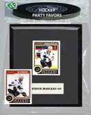 NHL San Jose Sharks Party Favor With 6x7 Mat and Frame