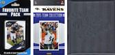 NFL Baltimore Ravens Licensed 2015 Score Team Set and Favorite Player Trading Card Pack Plus Storage Album