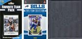 NFL Buffalo Bills Licensed 2015 Score Team Set and Favorite Player Trading Card Pack Plus Storage Album