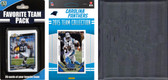 NFL Carolina Panthers Licensed 2015 Score Team Set and Favorite Player Trading Card Pack Plus Storage Album