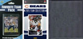 NFL Chicago Bears Licensed 2015 Score Team Set and Favorite Player Trading Card Pack Plus Storage Album