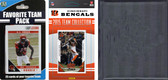 NFL Cincinnati Bengals Licensed 2015 Score Team Set and Favorite Player Trading Card Pack Plus Storage Album