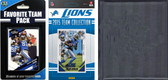 NFL Detroit Lions Licensed 2015 Score Team Set and Favorite Player Trading Card Pack Plus Storage Album