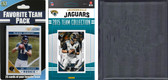 NFL Jacksonville Jaguars Licensed 2015 Score Team Set and Favorite Player Trading Card Pack Plus Storage Album