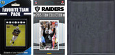 NFL Oakland Raiders Licensed 2015 Score Team Set and Favorite Player Trading Card Pack Plus Storage Album
