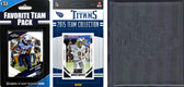 NFL Tennessee Titans Licensed 2015 Score Team Set and Favorite Player Trading Card Pack Plus Storage Album