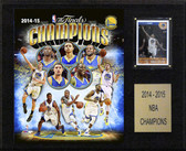 "NBA 12""x15"" Golden State Warriors 2014-2015 NBA Champions Plaque"