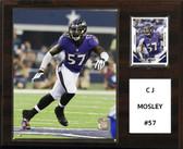 "NFL 12""x15"" C.J. Mosley Baltimore Ravens Player Plaque"