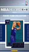 NBA Charlotte Hornets Licensed 2015 Hoops Team Set