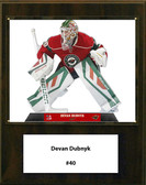 "NHL 12""x15"" Devan Dubnyk Minnesota Wild Player Plaque"