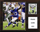 "NFL 12""x15"" Frank Gore Indianapolis Colts Player Plaque"