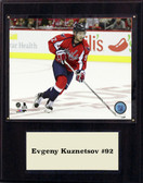 "NHL 12""x15"" Evgeny Kuznetsov Washington Capitals Player Plaque"