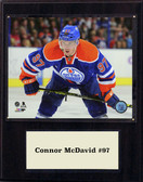 "NHL 12""x15"" Conner McDavid  Edmonton Oilers Player Plaque"