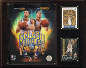 "NBA 12""x15"" Curry-Thompson Golden State Warriors Player Plaque"