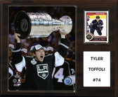 "NHL 12""x15"" Tyler Toffoli Los Angeles Kings Player Plaque"