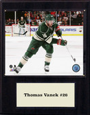 "NHL 12""x15"" Thomas Vanek Minnesota Wild Player Plaque"