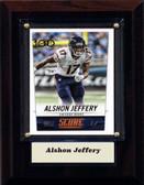 "NFL 4""x6"" Alshon Jeffery Chicago Bears Player Plaque"