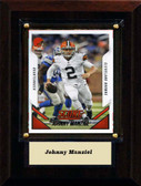 "NFL 4""x6"" Johnny Manziel Cleveland Browns Player Plaque"