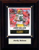 "NFL 4""x6"" Jordy Nelson GreenBay Packers Player Plaque"
