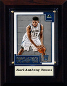 "NBA 4""x6"" Karl-Anthony Towns Minnesota Timberwolves Player Plaque"