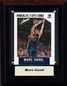 "NBA 4""x6"" Marc Gasol Memphis Grizzles Player Plaque"