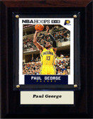 "NBA 4""x6"" Paul George Indiana Pacers Player Plaque"