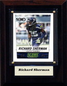 "NFL 4""x6"" Richard Sherman Seattle Seahawks Player Plaque"