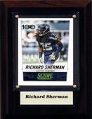 "NFL 4""x6"" Richard Sherman Seattle Seahawks Player Plaque"