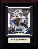 "NFL 4""x6"" Sammy Watkins Buffalo Bills Player Plaque"