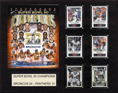 "NFL 16""x20"" New England Patriots Super Bowl 50 Champions Plaque"