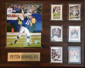 "NFL16""x 20"" Payton Manning Indianapolis Colts Plaque"