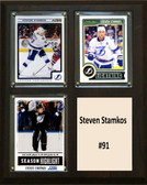 "NHL 8""x10"" Steven Stamkos Tampa Bay Lighting Three Card Plaque"