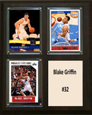 "NBA 8""x10"" Blake Griffin Los Angeles Clippers Three Card Plaque"