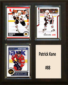 "NHL 8""x10"" Patrick Kane Chicago Blackhawks Three Card Plaque"