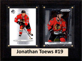 "NHL 6""X8"" Jonathan Toews Chicago Blackhawks Two Card Plaque"